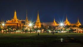 Temple de Bouddha vert Image libre de droits