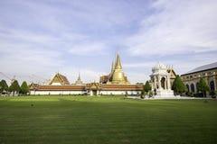 Temple de Bouddha vert Photo stock
