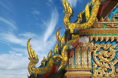 Temple de bouddhisme à Bangkok, Thaïlande Photos libres de droits