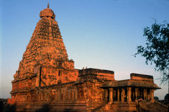 Temple de Brihadeeshwara, Thanjavur, Tamil Nadu, Inde Photo stock
