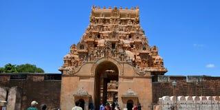 Temple de Brihadeeswarar Images libres de droits
