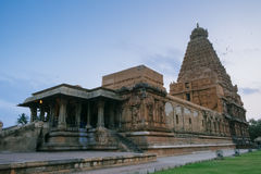 Temple de Brihadishvara, Thanjavur Tanjore, monde Heritag de l'UNESCO Photo stock