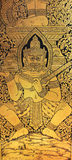 Temple de buddist de Chineese - détail d'intérieur Image libre de droits