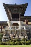Temple de Bulguksa, Corée du Sud image stock