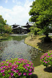 Temple de Byodoin dans Uji, Japon Photos libres de droits
