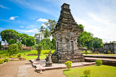 Temple de Candi Penataran dans Blitar, Indonésie. photos stock