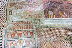 Temple de caverne de Dambulla - patrimoine mondial de l'UNESCO de Sri Lanka Photographie stock libre de droits