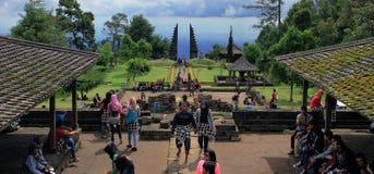 Temple de Cetho Photos libres de droits