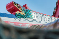 Temple de Chainese Photographie stock