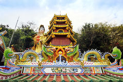 Temple de Chainese Photos stock