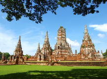Temple de Chaiwattanaram Photo stock