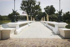 Temple de Chaiwatthan à Ayutthaya Image stock
