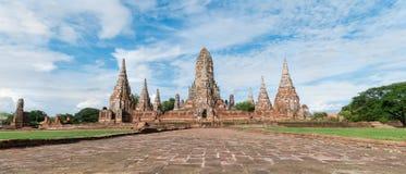 Temple de Chaiwatthanaram Photographie stock