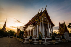Temple de Chalong photographie stock
