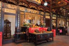 Temple de Cheng Hoon Teng Images libres de droits