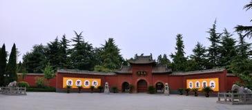 Temple de cheval blanc, nord de la Chine Photographie stock libre de droits