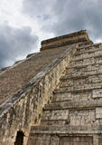 Temple de Chichen Itza Mexique Image stock