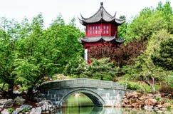 temple de Chinois de HDR-image illustration stock