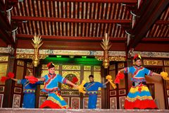 Temple de Chinois de Khoo Kongsi Images stock