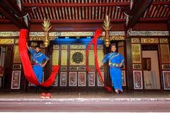 Temple de Chinois de Khoo Kongsi Image stock