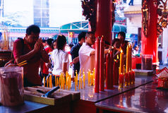 Temple de Chinois de Li Thi Miew Images stock