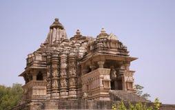 Temple de Chitragupta, Khajuraho photo stock