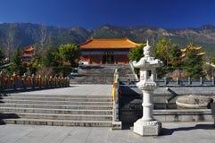 Temple de Chongsheng, Dali, Chine Image stock