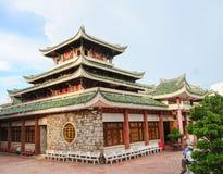Temple de Chua Xu de Ba - tombeau sacré de dieux dans le delta du Mékong photographie stock