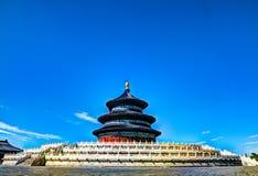 Temple de ciel à Pékin, porcelaine images libres de droits