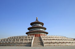 Temple de ciel, Pékin Chine Images libres de droits