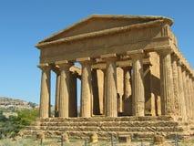Temple de Concordia. Image stock