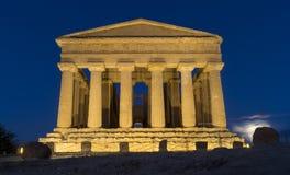 Temple de Concordia Images stock