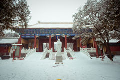 Temple de Confucius Photographie stock libre de droits