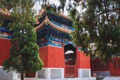 Temple de Confucius, Pékin, Chine images stock