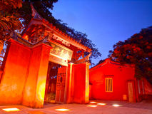 temple de Confucius Tainan Photos stock