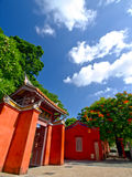 temple de Confucius Tainan Photo stock