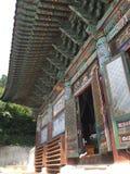Temple de Coréen de bouddhisme image stock