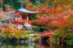 Temple de Daigoji à Kyoto Image libre de droits