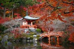 Temple de Daigoji photos libres de droits