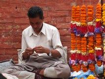Temple de Dakshin Kali, Népal Photographie stock libre de droits