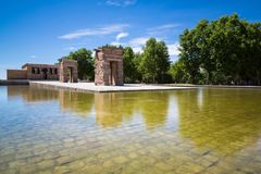 Temple de Debod, Madrid, Espagne - l'UNESCO Photographie stock
