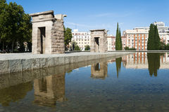 Temple de Debod, Madrid, Spain Stock Photography