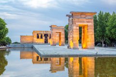 Temple de debod Madrid Royalty Free Stock Photography