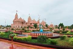 Temple de dham de Poicha Swaminarayan - Inde photos stock