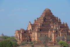 Temple de Dhammayangyi le plus grand temple dans Bagan, Myanmar Image stock