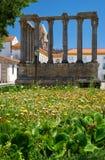 Temple de Diana Evora portugal Photographie stock