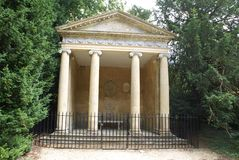 Temple de Diana, palais de Blenheim, Woodstock, Angleterre Image stock
