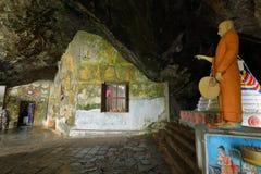 Temple de Diva Guhawa Caves chez Ratnapura dans Sri Lanka Photo libre de droits