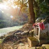 Temple de divinité de village Images libres de droits