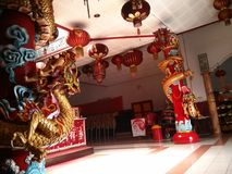 Temple de dragon Image libre de droits